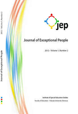 Journal of Exceptional People 2012 – Volume 1; Number 2